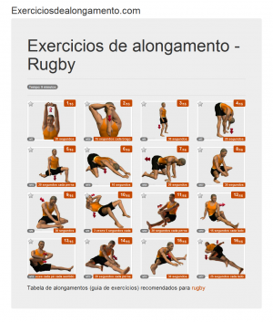 Foto Alongamentos: Rugby